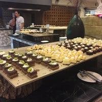Photo taken at World Café by Geo S. on 10/31/2016