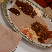 Photo taken at Meaza Restaurant & Market by Shereen R. on 9/25/2014