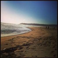 Photo taken at Playa Tunquen by Carolina C. on 4/6/2013