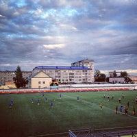 Photo taken at стадион Юбилейный by Artem Z. on 9/11/2013
