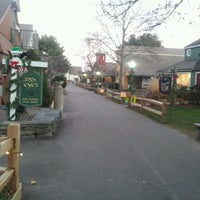 Photo taken at Olde Mystic Village by Cera C. on 11/26/2012
