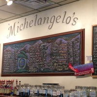 Photo taken at Michelangelo's Coffee House by Scott J. P. on 7/25/2013