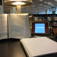 Photo taken at Albert R. Mann Library by Lua W. on 2/7/2013
