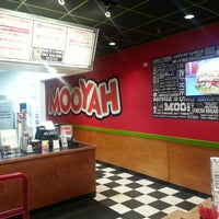 Photo taken at MOOYAH Burgers, Fries & Shakes by Mandy W. on 10/12/2013