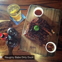 Photo taken at Naughty Babe Dirty Duck by Cyee on 9/12/2015