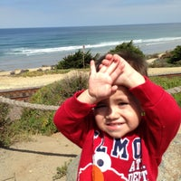 Photo taken at Del Mar Bluffs by Cesar R. on 5/1/2013