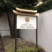 Photo taken at Embassy of Brunei Darussalam by nama e. on 9/27/2012