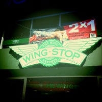 Photo taken at Wingstop by Mario P. on 11/19/2012