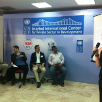 Photo taken at UNDP Istanbul Center For Private Sector In Development by Nora Y. on 5/24/2013
