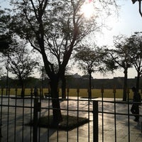 Photo taken at Sanam Luang by Peempeem on 3/13/2013
