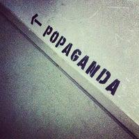 Photo taken at POPAGANDA by Joseph P. on 10/30/2013