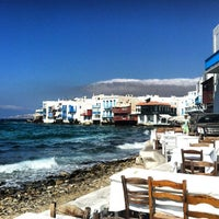 Photo taken at Mykonos Island by Joseph P. on 9/30/2012