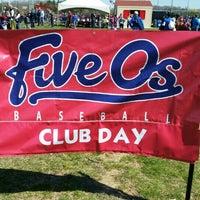 Photo taken at Summit Park Baseball Field by Stephen B. on 4/26/2015