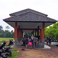 Photo taken at Lapangan Mataram by senopati D. on 12/6/2014