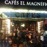 10/11/2012 tarihinde Maria G.ziyaretçi tarafından Cafés El Magnífico'de çekilen fotoğraf