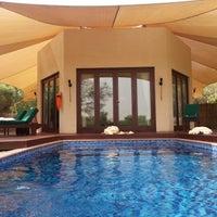 Photo taken at Al Maha Bedouin Suite 26 by Scoop F. on 9/20/2012