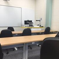 Photo taken at Llanbadarn Campus, Aberystwyth University by Zahira Aqila on 4/14/2016