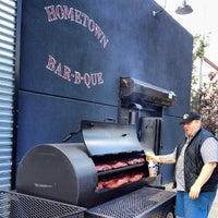 Photo taken at Hometown Bar-B-Que by Matt B. on 9/14/2013