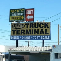 Photo taken at Bandini Truck Stop by Juan H. on 12/15/2013