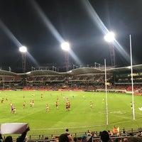 Photo taken at Spotless Stadium by Mark D. on 4/28/2018