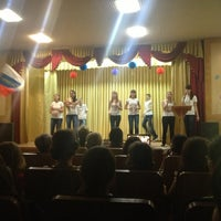 Photo taken at Гимназия № 1 by Karina R. on 11/2/2012