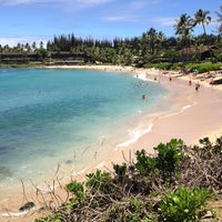 Photo taken at Napili Beach by Mikael V. on 9/3/2013