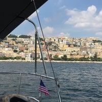 Photo taken at Molo di Sopraflutto Sannazzaro (Molo Luise) | Porto di Napoli by Tolga O. on 9/24/2016