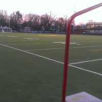 Photo taken at Ramsey High School Football Field by Amy H. on 4/17/2013