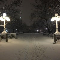 Photo taken at Major's Hill Park by Lindsay M. on 2/28/2013