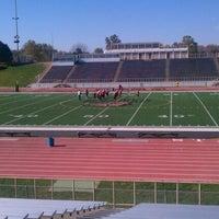 Photo taken at Burke High School by Jamie L. on 10/21/2012