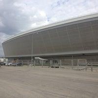 Photo taken at Adler Arena by Stanislav B. on 10/31/2012
