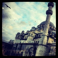 Photo taken at Yeni Cami by Lucas G. on 3/17/2013