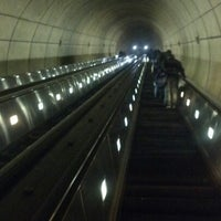 Photo taken at Wheaton Metro Station by Jim S. on 10/5/2012