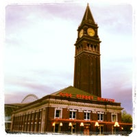 Photo taken at King Street Station (SEA) by E P. on 5/12/2013