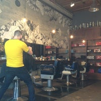 Photo taken at Rudy's Barbershop by E P. on 5/9/2013