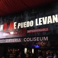 Photo taken at Teatro Arteria Coliseum by Kilian B. on 5/17/2014