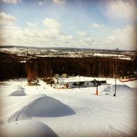 Снимок сделан в ГЛК Гора Волчиха пользователем Vladislove S. 2/23/2013