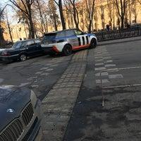 Photo taken at Парковка финашки by Lesha _ K. on 3/10/2017