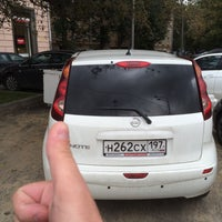 Photo taken at Парковка финашки by Lesha _ K. on 9/11/2015