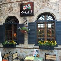 5/21/2017 tarihinde Yasemin K.ziyaretçi tarafından Gazetta Brasserie - Pizzeria'de çekilen fotoğraf