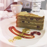 Photo taken at Champs Patisserie by Vania W. on 10/13/2013