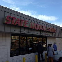 Photo taken at State Liquor Store by Jeremy R. on 10/16/2013