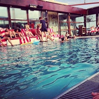 Photo taken at Shoreditch House by Tom J. on 7/22/2013