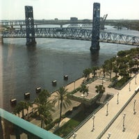 Photo taken at Hyatt Regency Jacksonville Riverfront by Shawndra R. on 5/17/2013