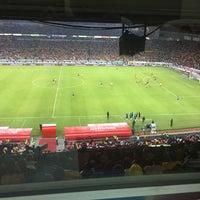 Photo taken at Estadio Morelos VIP by Carlos R. on 4/2/2017