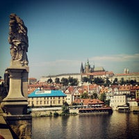Photo taken at Charles Bridge by André C. on 8/17/2013