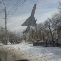 "Photo taken at Памятник ""Самолет"" by Света К. on 3/29/2013"