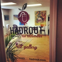 Photo taken at Hadrout Advertising + Web by Maria P. on 2/16/2014