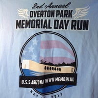 Photo taken at overton park memorial run by Stader on 5/27/2013