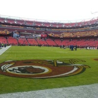 Photo taken at FedEx Field by Dave P. on 11/18/2012
